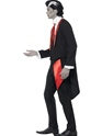 Adult Vampire Leading Man Costume  - Back View - Thumbnail