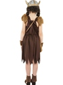 Child Viking Girls Childrens Costume  - Side View - Thumbnail