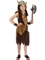 Child Viking Girls Childrens Costume Thumbnail
