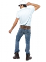 Adult Village People Construction Worker Costume  - Side View - Thumbnail