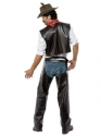 Adult Village People Cowboy Costume  - Side View - Thumbnail