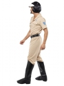 Adult Village People Motorcycle Cop Costume  - Back View - Thumbnail