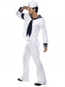 Adult Village People Navy Costume  - Back View - Thumbnail