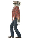 Adult Werewolf Costume  - Back View - Thumbnail