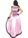 Adult Western Authentic Brothel Babe Costume  - Side View - Thumbnail
