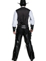 Adult Western Gunslinger Costume  - Side View - Thumbnail