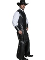 Adult Western Gunslinger Costume  - Back View - Thumbnail