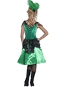 Adult Western Saloon Girl Costume  - Side View - Thumbnail