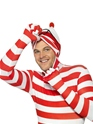 Adult Where's Wally Second Skin Costume  - Side View - Thumbnail