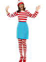 Adult Where's Wally Wenda Female Costume Thumbnail