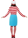 Adult Where's Wally Wanda Female Costume  - Side View - Thumbnail
