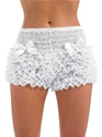 Adult Burlesque White Bustle Pants Thumbnail