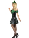 Adult Fever Wicked Witch Light Up Costume  - Back View - Thumbnail