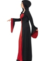 Adult Plus Size Dark Temptress Vamp Costume  - Back View - Thumbnail