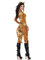 Adult Wild Tigeress Costume  - Back View - Thumbnail