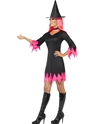Adult Witch Costume  - Back View - Thumbnail