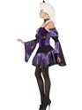 Adult Witch Masquerade Costume  - Back View - Thumbnail