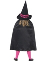 Child Witch School Girl Costume  - Side View - Thumbnail