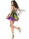 Adult Woodland Fairy Costume  - Back View - Thumbnail