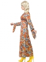 Adult Woodstock Maxi Dress Costume  - Back View - Thumbnail