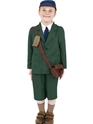 Child World War II Evacuee Boy Costume Thumbnail