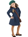 Child World War II Evacuee Girl Costume Thumbnail