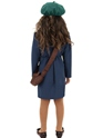 Child World War II Evacuee Girl Costume  - Side View - Thumbnail