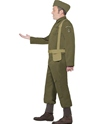Adult WW2 Home Guard Private Costume  - Back View - Thumbnail