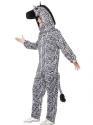 Adult Zebra Costume  - Back View - Thumbnail
