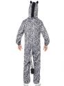 Adult Zebra Costume  - Side View - Thumbnail