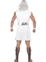 Adult Zeus Costume  - Back View - Thumbnail