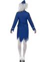 Adult Zombie Air Hostess Costume  - Side View - Thumbnail