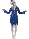 Adult Zombie Air Hostess Costume Thumbnail