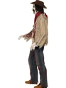 Adult Zombie Cowboy Costume  - Back View - Thumbnail