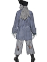 Adult Zombie Alley Ghost Pirate Costume  - Side View - Thumbnail