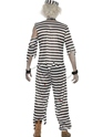 Adult Zombie Convict Male Costume  - Side View - Thumbnail