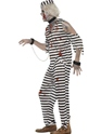 Adult Zombie Convict Male Costume  - Back View - Thumbnail
