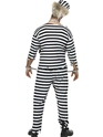 Zombie Convict Costume  - Back View - Thumbnail