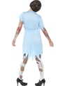 Zombie Dinner Lady Costume  - Side View - Thumbnail