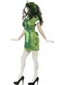 Adult Biohazard Lab Nurse Costume  - Back View - Thumbnail