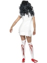 Adult Zombie Nurse Costume  - Back View - Thumbnail
