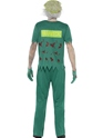 Adult Zombie Paramedic Costume  - Side View - Thumbnail