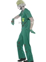 Adult Zombie Paramedic Costume  - Back View - Thumbnail