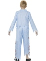 Child Zombie Pyjama Boy Costume  - Side View - Thumbnail