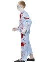 Child Zombie Pyjama Boy Costume  - Back View - Thumbnail