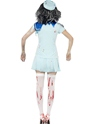 Adult Zombie Sailor Costume  - Side View - Thumbnail