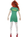 Adult Zombie Scrub Nurse Costume  - Side View - Thumbnail