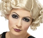 1920's Flapper Curly Blonde Wig (42003)