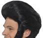 50's Black Quiff Wig (42010)
