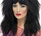 80's Black Crimp Wig (43205)